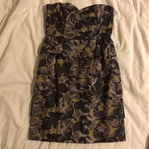 J. Crew floral cocktail dress